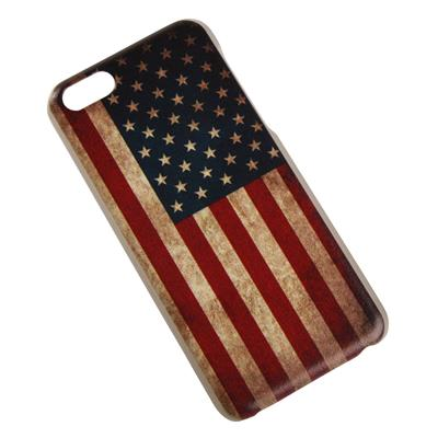 iPhone 5C cover med Amerikansk flag