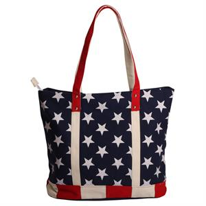 Skuldertaske med Stars and Stripes