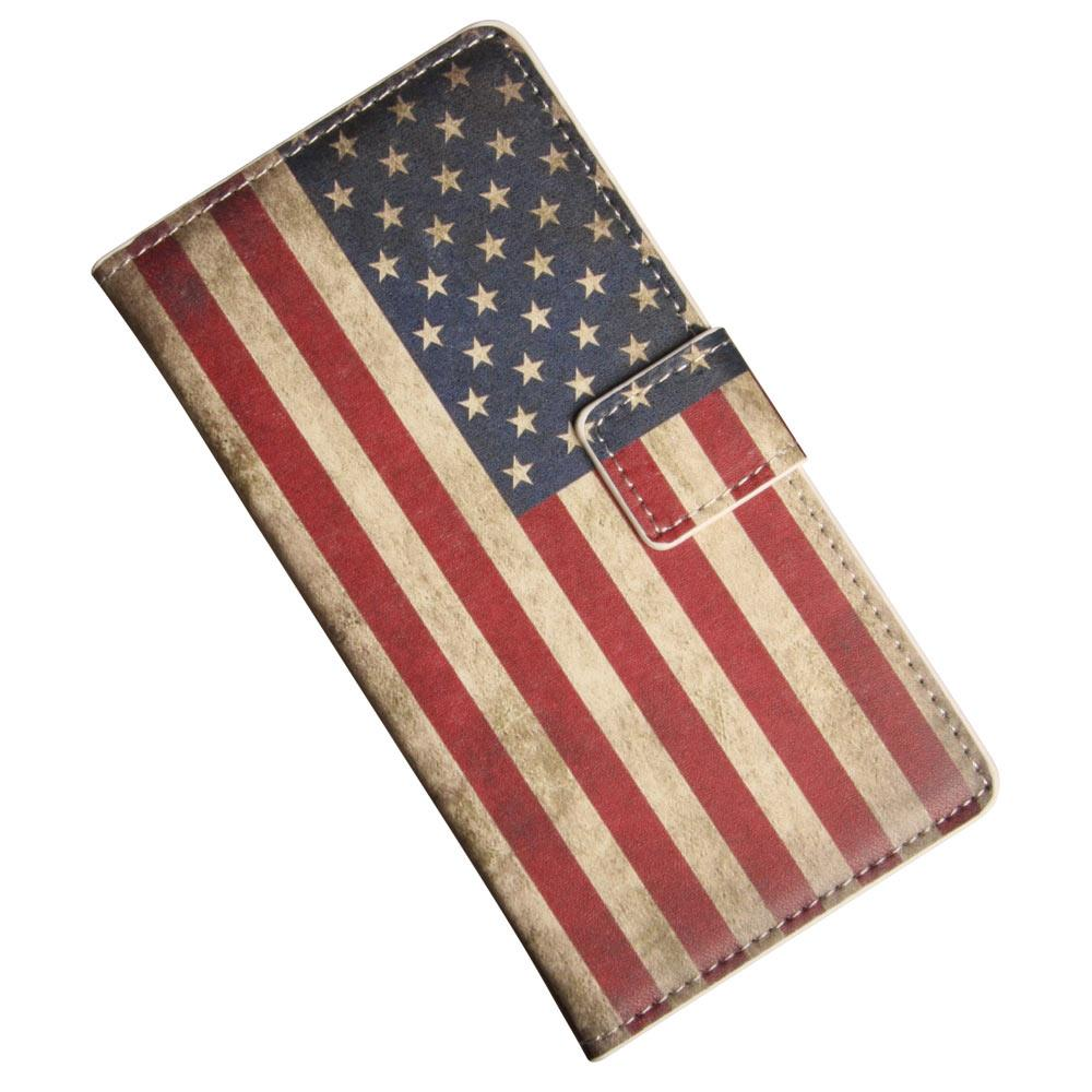 Sony Xperia Z4 etui, patineret USA flag