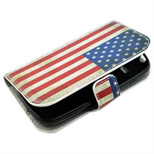 Samsung Galaxy S3 mini mobilpung med USA flag