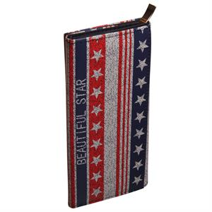 Clutch med Stars and Stripes og god plads