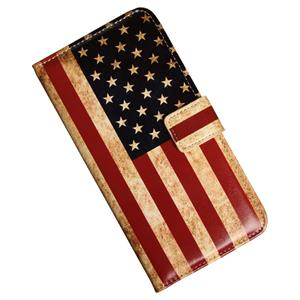 Samsung Galaxy Note 4 luksusetui med USA flag