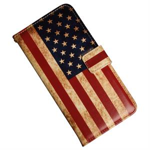 Samsung Galaxy Note 5 luksusetui med USA flag