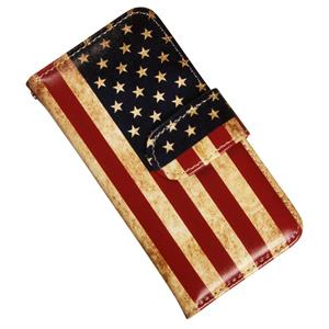 iPhone 5, 5S og SE luksusetui med USA flag