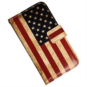 Samsung Galaxy S6 Luksusetui med patineret USA flag