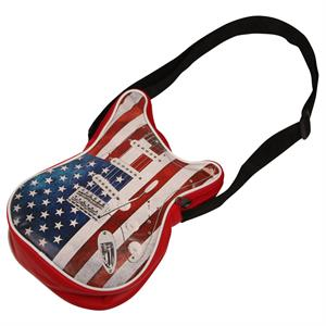 Stars and Stripes skuldertaske som guitar