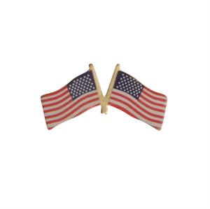 Pin med twin USA flag