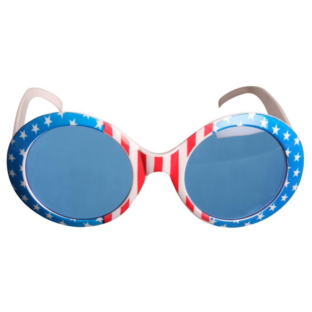 2c5880786725 Store solbriller med Stars and Stripes
