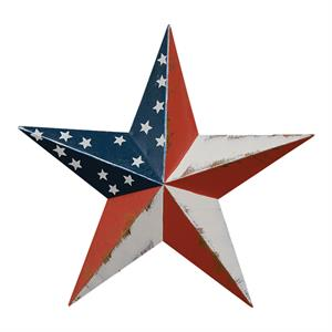 Stars and Stripes Barn Star