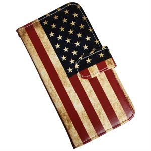 Huawei P20 Luksus Cover med patineret USA flag