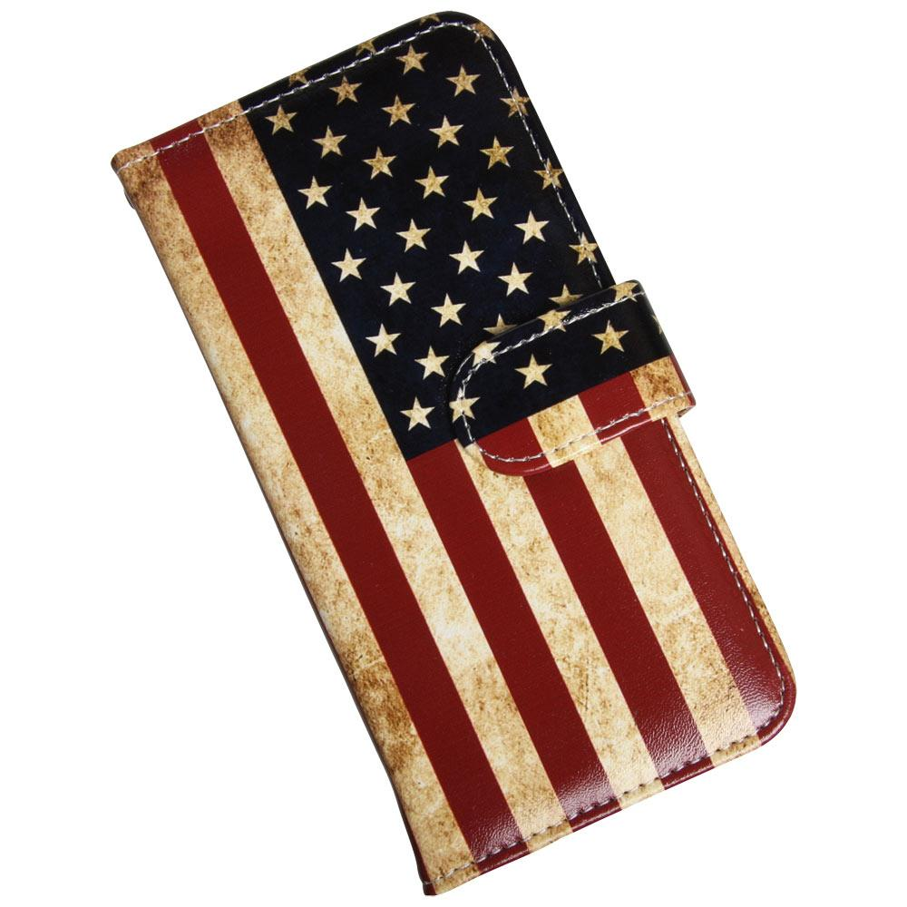 Samsung Galaxy S9 luksusetui med patineret USA flag