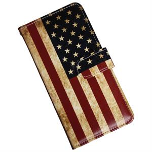 Samsung Galaxy S9 Plus luksus cover med USA flag