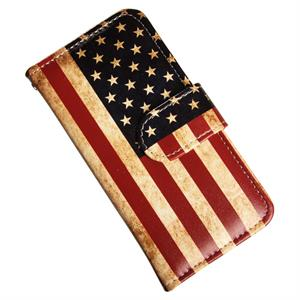 iPhone 5C luksusetui med USA flag