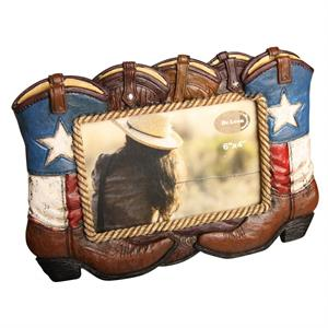 Stars and Stripes Western billedramme til 10 x 15 cm fotos