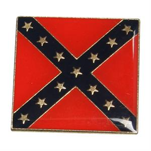 Pin med Rebel flag