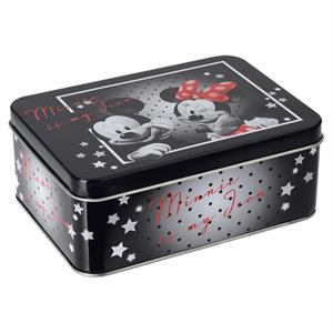 Minnie og Mickey Mouse Metal madkasse, stor