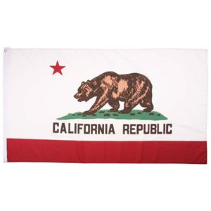 Californien Flag, 90 x 150 cm